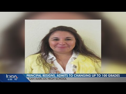 San Marcos High Principal Resigns, Admits To Changing Up To 100 Grades