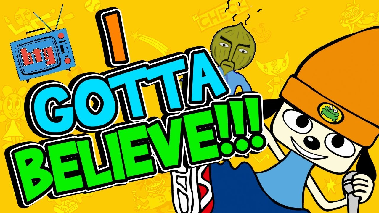 99d94c7534d I GOTTA BELIEVE! PaRappa the Rapper Remastered - YouTube