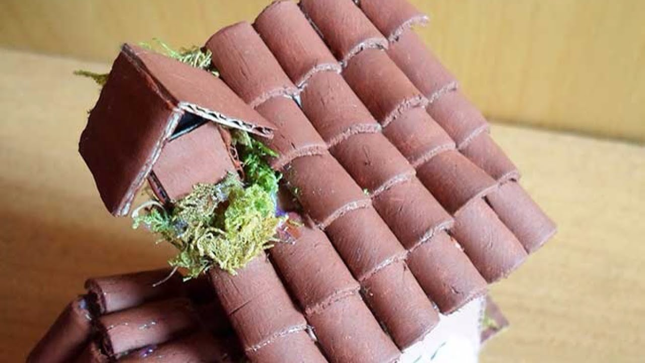 Create Miniature Clay Roof Tiles Crafts Guidecentral