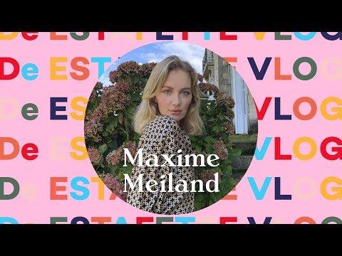 MAXIME MEILAND komt in de KERSTSTEMMING | De Estafette Vlog