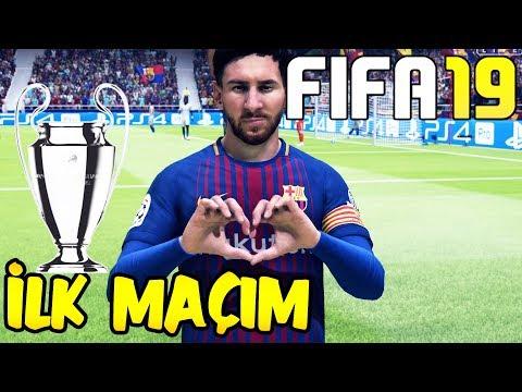 FIFA 19 İLK MAÇIM! | ŞAMPİYONLAR LİGİ BARCELONA-CHELSEA