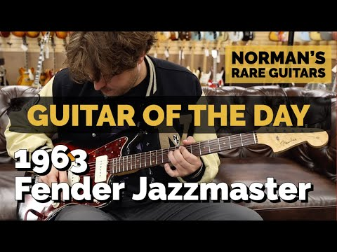 Guitar of the Day: 1963 Fender Jazzmaster Sunburst | Norman&39;s Rare Guitars