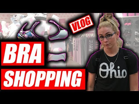 Bra & yoga Pants shopping @ Easton Town Center Columbus Ohio VLOG