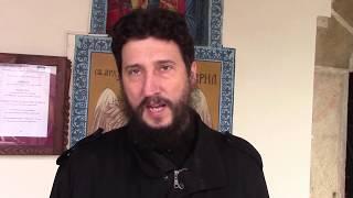 Otac Žarko Dimić - izjava, Badnji dan i Božić u Tijabarskoj crkvi