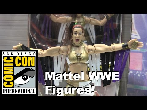 Mattel WWE Action Figures on Display at San Diego Comic Con 2016