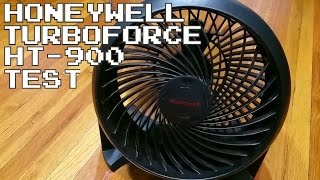 Honeywell TurboForce Fan HT 900 quick review and test