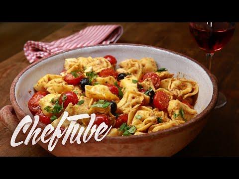comment-faire-une-salade-de-tortellini-à-l'italienne---recette-dans-la-description