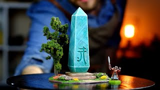 How To Make a Crystal Elven Waystone for D&D & AoS