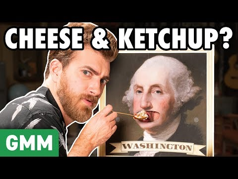 Weirdest Foods Eaten By Presidents (GAME)