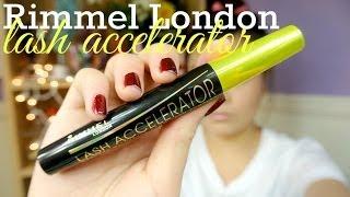 {MMM}: Rimmel London LASH ACCELERATOR Mascara First Impression/Demo!!♡