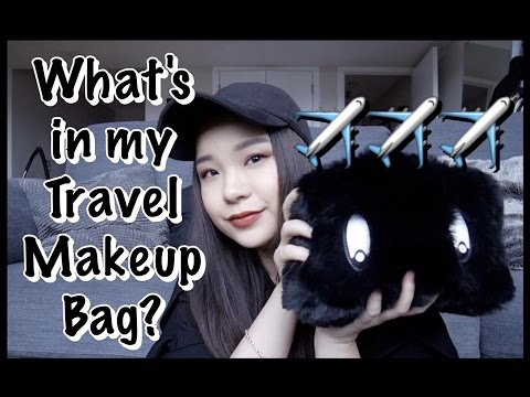 What's in my Travel Makeup Bag? 旅行化妝包有什麼? | Only EMMA