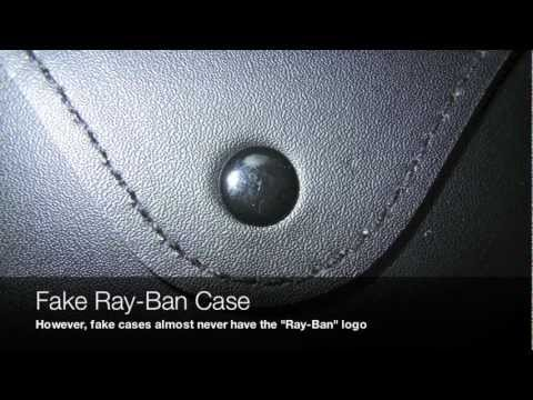 how to spot fake ray ban round
