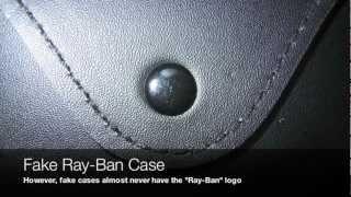 RARE VIDEO Ray-Ban AVIATOR: FAKE vs. REAL RB 3025 SUNGLASSES details