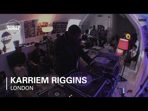 Karriem Riggins Boiler Room London DJ Set