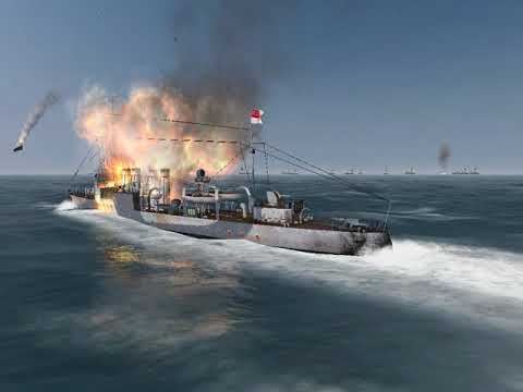 Silent Hunter 3 sinking ships with homing torpedoes