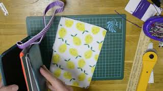DIY Zipper Pouch for Travelers Notebook