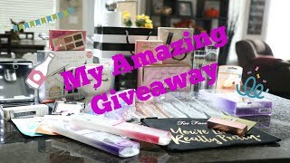 CLOSED| My Amazing  Beauty Giveaway 💋
