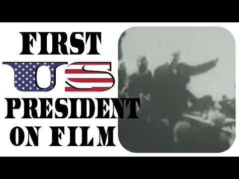 Oldest footage of a president - US