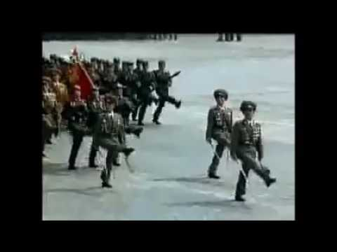 North Korea Parade April 25 ,2007 - Full Video