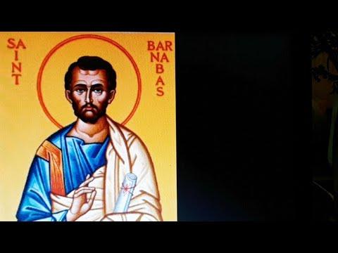 Santa Missa: São Barnabé
