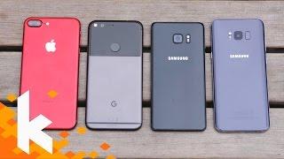 KAMERA-BATTLE mit Samsung Galaxy S8!
