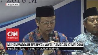 Video Muhammadiyah Tetapkan Awal Ramadan 17 Mei 2018 download MP3, 3GP, MP4, WEBM, AVI, FLV Agustus 2018