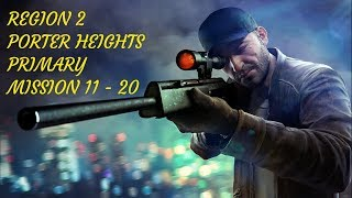 Sniper 3D Assassin  Porter Heights  Primary Mission 11 - 20
