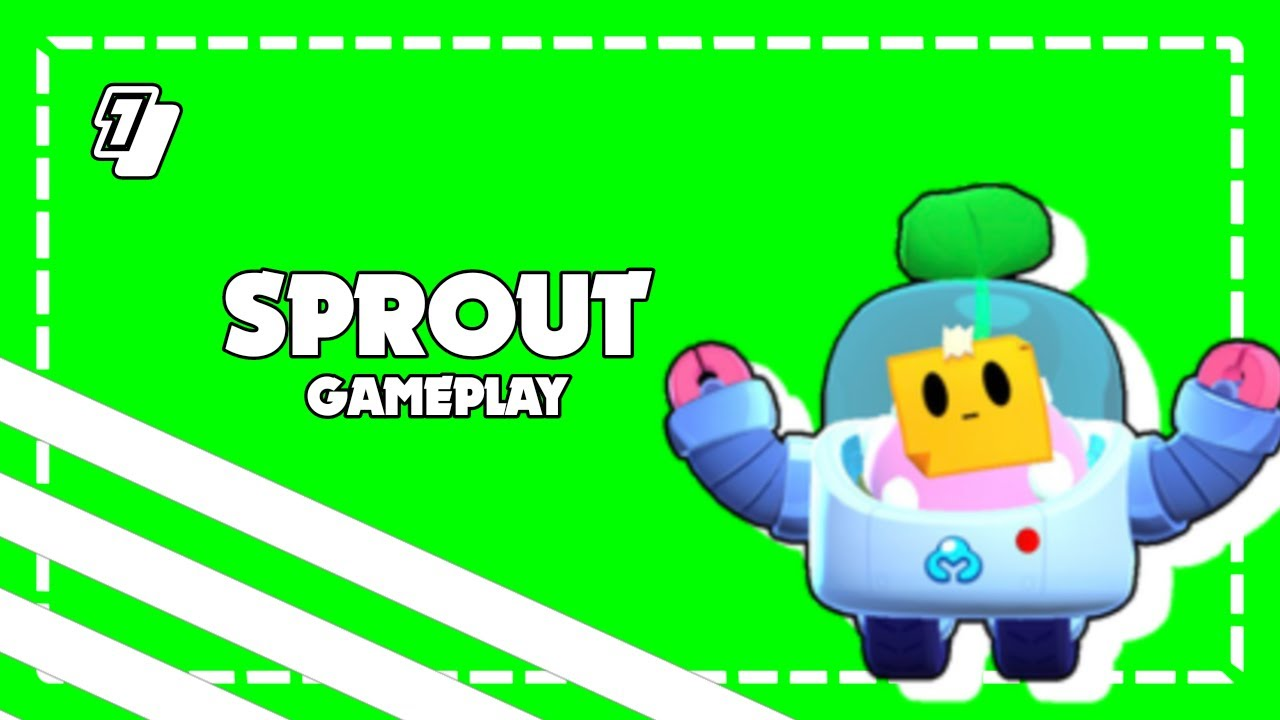 Sprout - Brawl Stars Gameplay #1