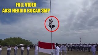 Baixar [FULL] Detik-Detik Tali Bendera Putus Dan Aksi Heroik JONI Panjat Tiang Bendera