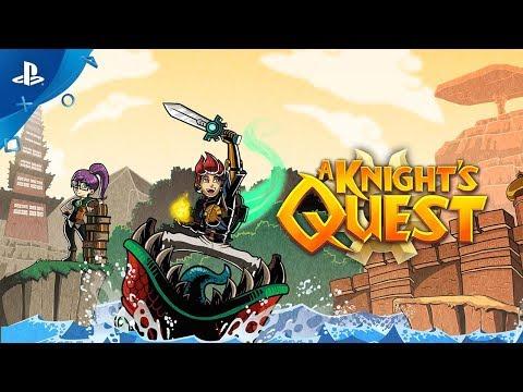 A Knight's Quest: Brave - Announcement Trailer   PS4