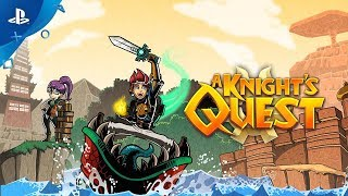 A Knight's Quest: Brave - Announcement Trailer | PS4