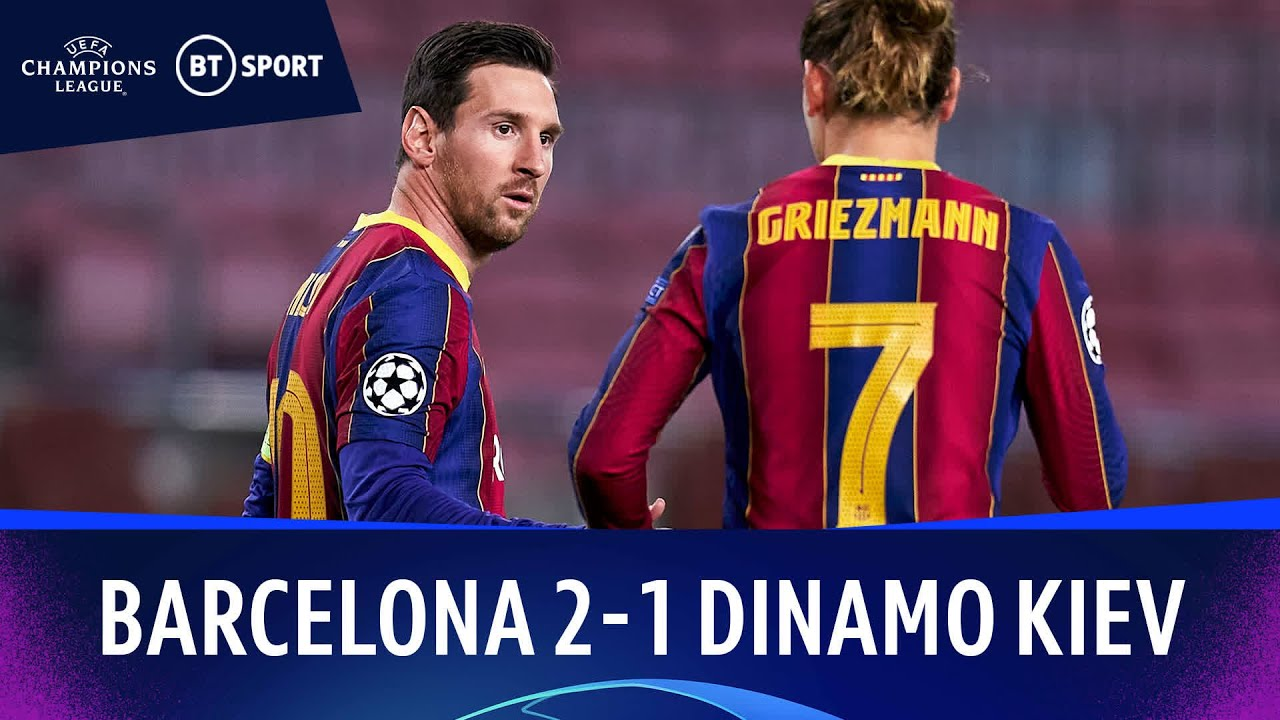 barcelona v dinamo kiev 2 1 champions league highlights the global herald barcelona v dinamo kiev 2 1