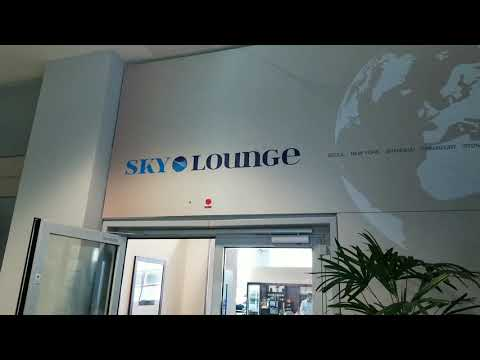 REVIEW - Sky lounge - Frankfurt Terminal 2