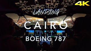 EGYPT | BOEING 787 LANDING 4K
