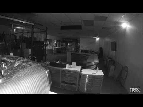 RAW VIDEO: Burglary At Studio City Drone Store Caught On Camera