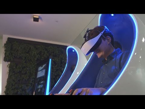 Virtual reality looks to move from home to arcade - and we test it out