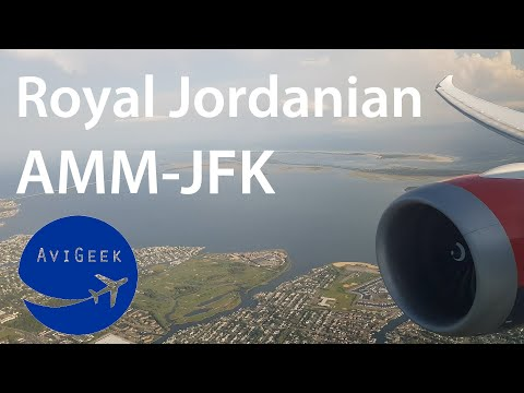TRIP REPORT | Royal Jordanian (Business) | Amman - New York (AMM-JFK) | Boeing 787-8 Dreamliner [4K]