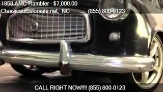 1959 AMC Rambler  for sale in Nationwide, NC 27603 at Classi #VNclassics