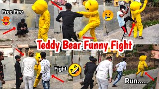 Try To Not Laugh 😂🤣| Teddy Bear Funny Video🔥| India 🇮🇳| Kolkata | Crazy Teddy