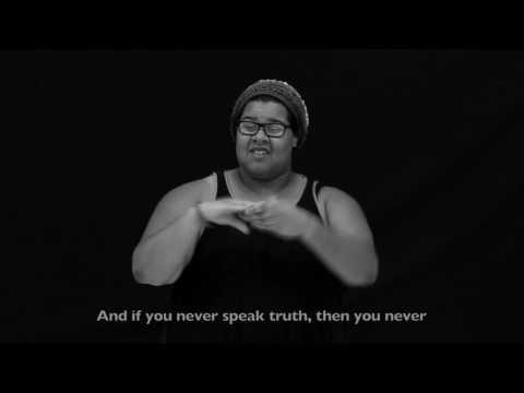 ASL #WheresTheLove Ft. Deaf Community - Black Eyed Peas (2016)