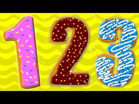 Ten Little Numbers Numbers Song  Learn Numbers 123 Nursery Rhymes Songs For Children Preschool