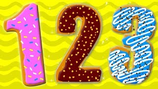Ten Little Numbers Numbers Song  Learn Numbers 123 Nursery Rhymes Songs For Children Preschool