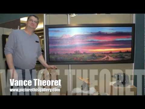 Picture This Artist Vance Theoret Edmonton Art Show