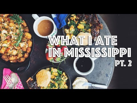 WHAT I ATE IN MISSISSIPPI (VEGAN) PT. 2 (FEATURING MISSISSIPPI VEGAN)
