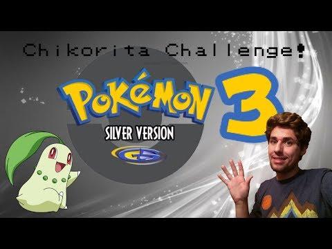 Pokemon Silver Chikorita Challenge! Pt. 3: 2 steps forward (Luke Jobe)