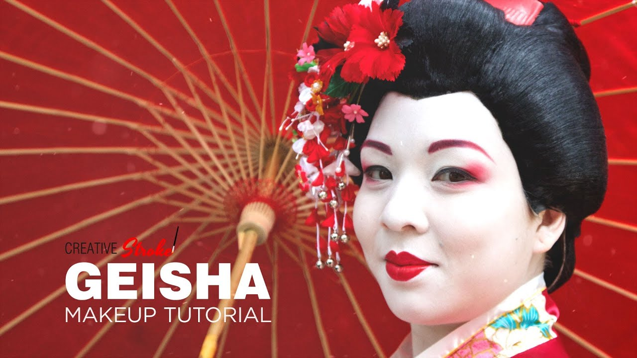 Geisha Makeup Tutorial Youtube