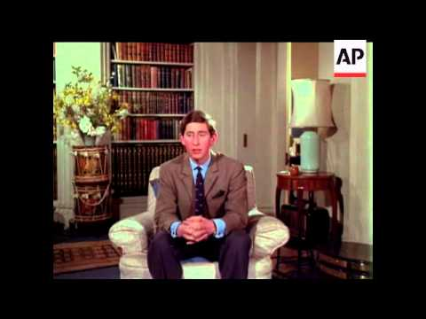 Prince Charles Interview - Sound Longer than Picture - 1969
