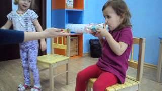 """урок английского языка в игровой форме в ДК """"Бамбини"""" г. Владивосток"""
