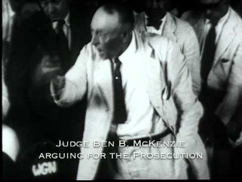 The Scopes Trial Gets Underway