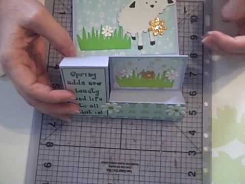 March Tri-Fold Cardwmv - YouTube - Tri Fold Card